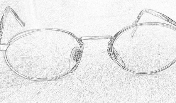 Brille von Andreas